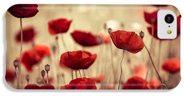 Summer Poppy IPhone 5c Case
