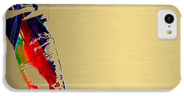 Bruce Springsteen Gold Series IPhone 5c Case by Marvin Blaine