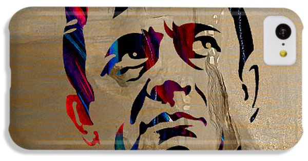 Johnny Cash IPhone 5c Case by Marvin Blaine