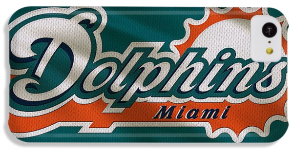 Miami Dolphins Uniform IPhone 5c Case by Joe Hamilton
