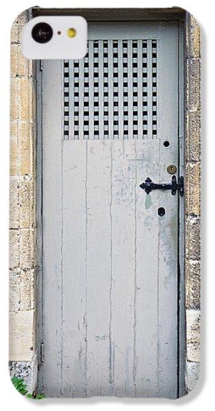 Dungeon iPhone 5c Case - Old Door by Tom Gowanlock