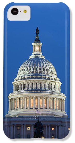 Capitol Building iPhone 5c Case - Usa, Washington, D by Jaynes Gallery