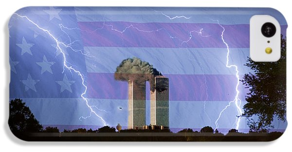 9-11 We Will Never Forget 2011 Poster IPhone 5c Case