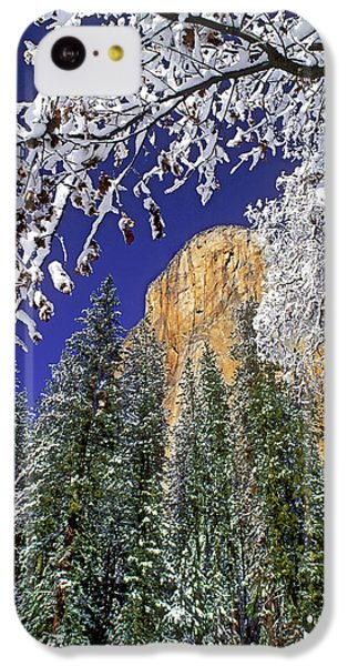Usa, California, Yosemite National Park IPhone 5c Case by Jaynes Gallery