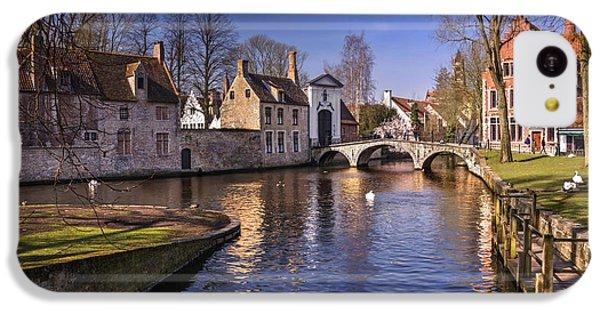 Blue Bruges IPhone 5c Case by Carol Japp