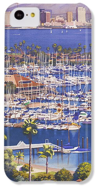 A Clear Day In San Diego IPhone 5c Case