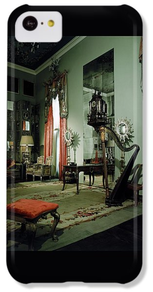 Beverly Hills iPhone 5c Case - A Drawing Room by Shirley C. Burden