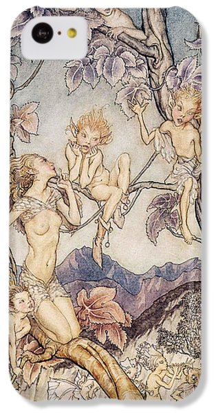 A Fairy Song From A Midsummer Nights Dream IPhone 5c Case by Arthur Rackham