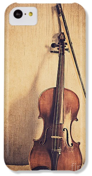 Violin iPhone 5c Case - A Fiddle by Emily Kay