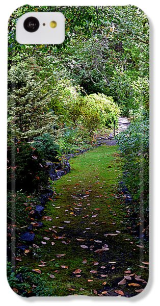 A Garden Path IPhone 5c Case by Anthony Baatz