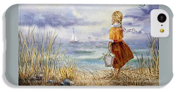 Pelican iPhone 5c Case - A Girl And The Ocean by Irina Sztukowski