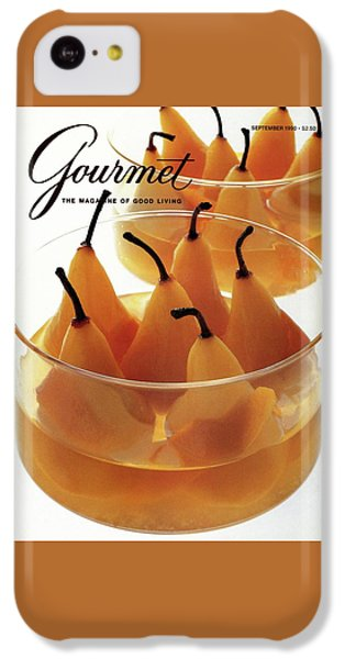 A Gourmet Cover Of Baked Pears IPhone 5c Case