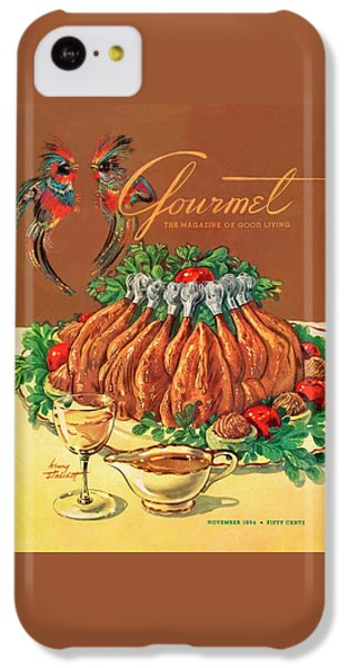 A Gourmet Cover Of Chicken IPhone 5c Case by Henry Stahlhut