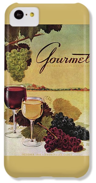 A Gourmet Cover Of Wine IPhone 5c Case