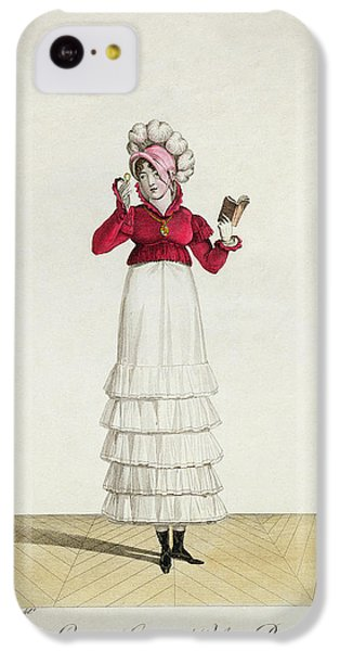 Ostrich iPhone 5c Case - A Lady In A Levantine Hat by Antoine Charles Horace Vernet