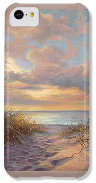 Sunset iPhone 5c Case - A Moment Of Tranquility by Lucie Bilodeau