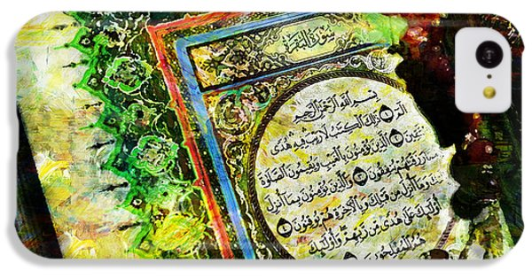 A Page From Quran IPhone 5c Case by Catf