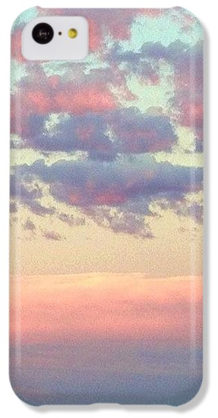 Sky iPhone 5c Case - Summer Evening Under A Cotton by Blenda Studio