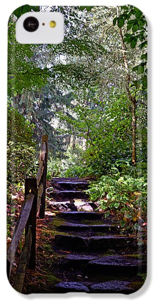 A Wooded Path IPhone 5c Case by Anthony Baatz
