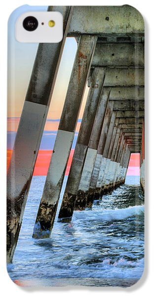 A Wrightsville Beach Morning IPhone 5c Case by JC Findley
