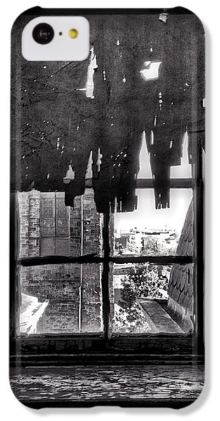 Harlem iPhone 5c Case - Abandoned Window by H James Hoff