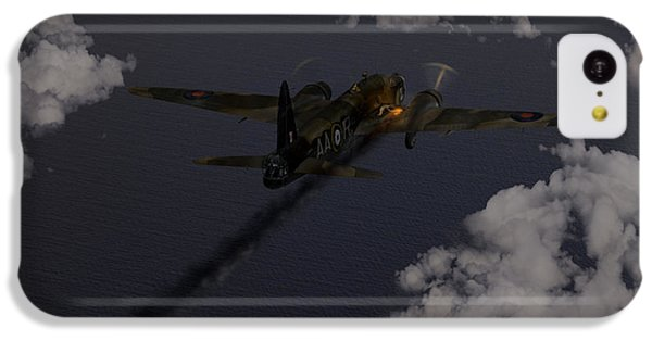 Above And Beyond - Jimmy Ward Vc IPhone 5c Case by Gary Eason