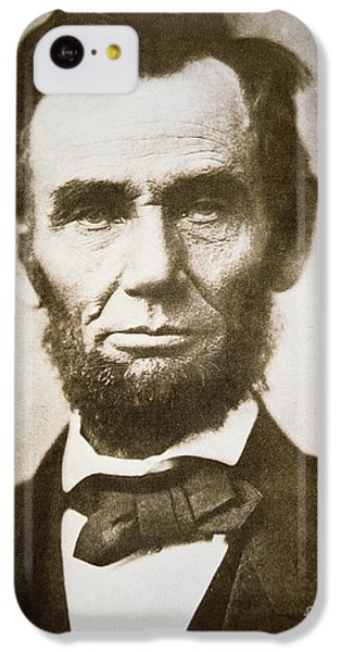 Portraits iPhone 5c Case - Abraham Lincoln by Alexander Gardner