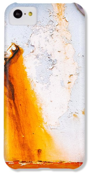 IPhone 5c Case featuring the photograph Abstract Boat Detail by Silvia Ganora