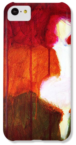 Abstract Ghost Figure No. 2 IPhone 5c Case