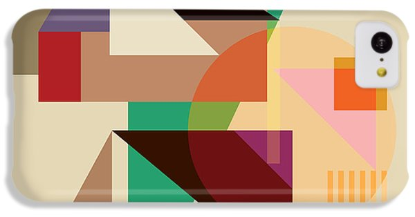 Abstract Shapes #4 IPhone 5c Case by Gary Grayson