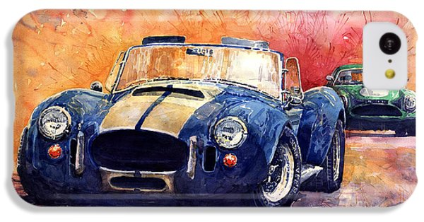 Ac Cobra Shelby 427 IPhone 5c Case by Yuriy  Shevchuk