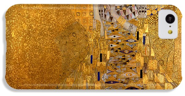Adele Bloch Bauers Portrait IPhone 5c Case by Gustive Klimt