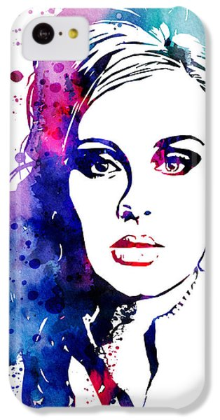 Adele IPhone 5c Case by Watercolor Girl