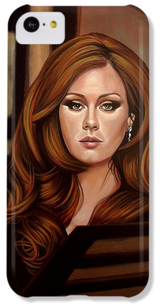 Rhythm And Blues iPhone 5c Case - Adele by Paul Meijering