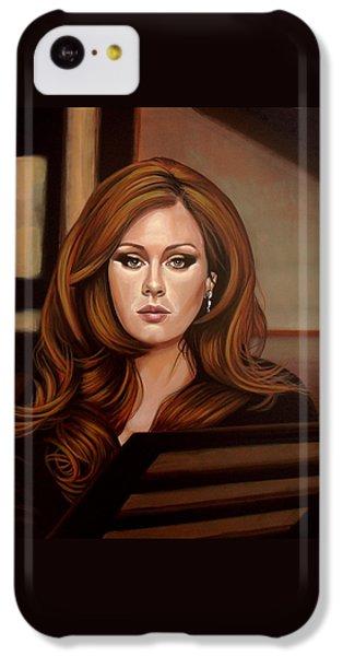 Adele IPhone 5c Case by Paul Meijering