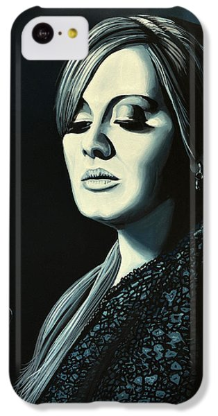 Adele 2 IPhone 5c Case by Paul Meijering