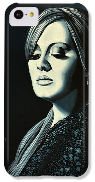 Rhythm And Blues iPhone 5c Case - Adele 2 by Paul Meijering