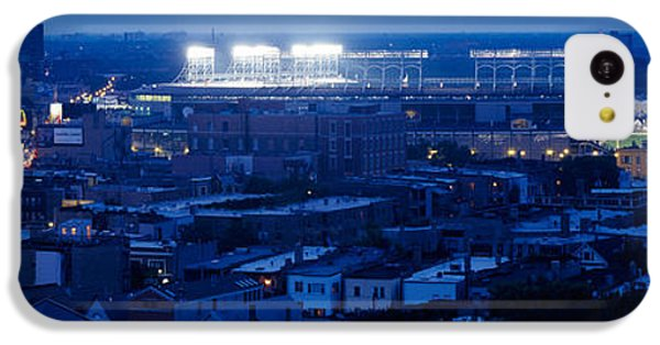 Aerial View Of A City, Wrigley Field IPhone 5c Case by Panoramic Images
