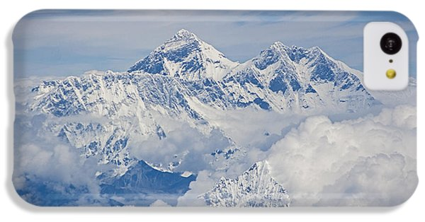 Aerial View Of Mount Everest, Nepal, 2007 IPhone 5c Case