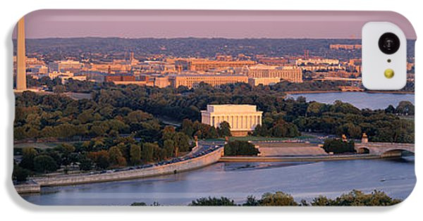 Aerial, Washington Dc, District Of IPhone 5c Case by Panoramic Images