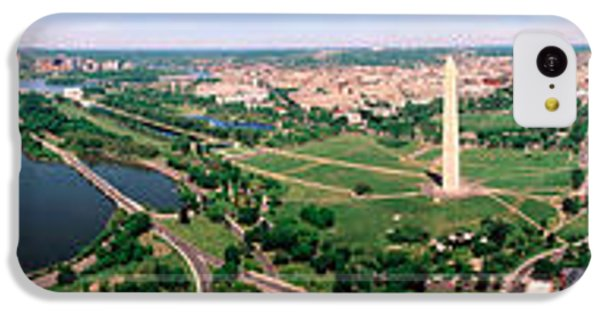 Aerial Washington Dc Usa IPhone 5c Case by Panoramic Images