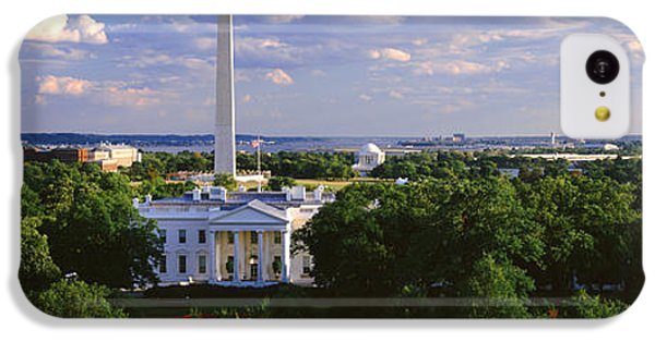 Aerial, White House, Washington Dc IPhone 5c Case by Panoramic Images