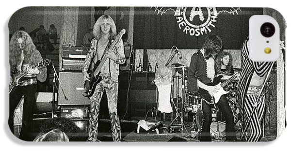 Aerosmith - Aerosmith Tour 1973 IPhone 5c Case by Epic Rights