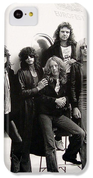 Aerosmith - Eurofest Jet 1977 IPhone 5c Case by Epic Rights