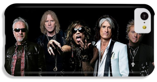 Aerosmith - Global Warming Tour 2012 IPhone 5c Case by Epic Rights