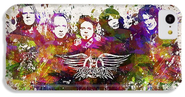 Aerosmith In Color IPhone 5c Case by Aged Pixel
