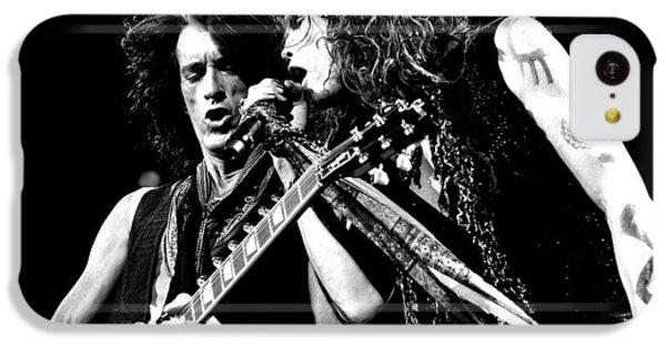 Aerosmith - Joe Perry & Steve Tyler IPhone 5c Case by Epic Rights
