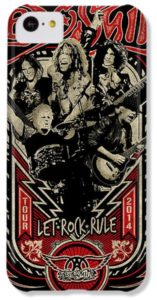 Aerosmith - Let Rock Rule World Tour IPhone 5c Case by Epic Rights