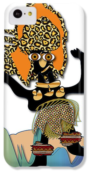 IPhone 5c Case featuring the digital art African Dancer 6 by Marvin Blaine