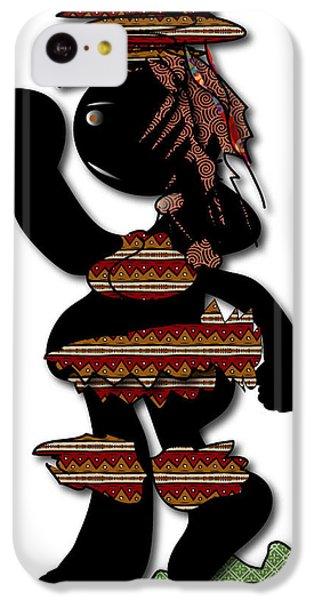 IPhone 5c Case featuring the digital art African Dancer 7 by Marvin Blaine